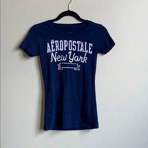 Aeropostale New York Short Sleeve T Shirt Size XS